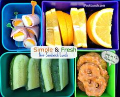Simple, fresh and healthy lunch in @Laptop Lunches container. Easy for #backtoschool.