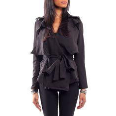 Victoria Black Blazer fra Kouture