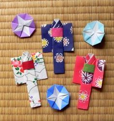 #origami yukata, cotton kimono in summer