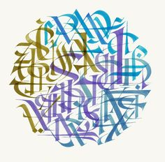 Calligraphy and graphics - Dennis Goddard