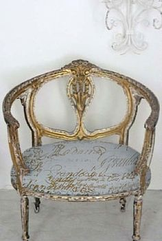 beautiful french chair