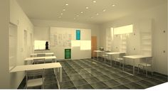 Garage to classroom conversion. Garage at night and classroom durind day. All units fold away. Perspective Drawing, Conceptual Design, Purpose, Garage, Classroom, The Unit, Night, Carport Garage, Class Room