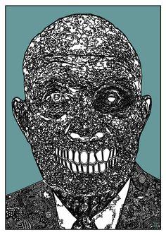 Skull, Art, Kunst, Skulls, Art Education, Artworks