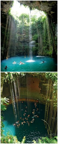 If you're going to Mexico for a vacation, then make sure that you include the Yucatan Cave Lake in your itinerary. Nestled in the Yucatan Peninsula in th