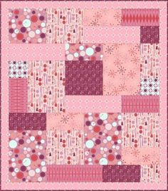 Fabric fun with magic blocks, this great big block can be used to create all different sizes of quilts