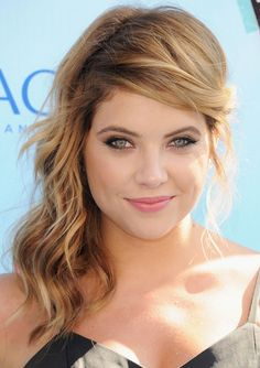 Famous Actress Ashley Benson As Hanna Marin From ABC Family Channel's Pretty Little Liars Aka PLL Tv Show At The 2013 Teen Choice Awards!