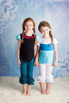 Red Head Princess Shirt- Frozen Anna Inspired/Playground Princess