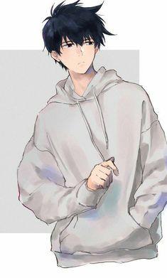 Anime Boys, Cool Anime Guys, Cute Anime Boy, Hot Anime, Dark Anime Guys, Wolf Boy Anime, Anime Boy Hair, Manga Anime Girl, Handsome Anime Guys