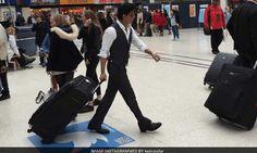 लंदन में सरेआम सूटकेस लेकर घूमते रहे शाहरुख