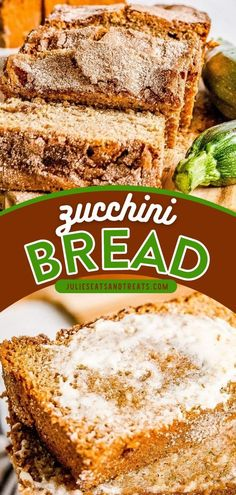 Zucchini Bread is the perfect way to use up your summer zucchinis! This quick bread recipe is moist and delicious, topped with cinnmaon sugar. Enjoy this family-friendly zucchini recipe for breakfast… Breakfast Bread Recipes, Zucchini Bread Recipes, Healthy Zucchini, Quick Bread Recipes, Tasty, Yummy Food, Family Meals, Snacks, Sugar