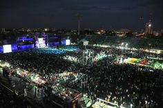 Estadio Olímpico Félix Sánchez es el principal estadio en Santo Domingo, construido en el 1974, es utilizado por  el futbol y la musica.