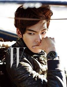 kim woo bin | Kim Woo Bin Answers the Call of the Wild for W Korea Magazine