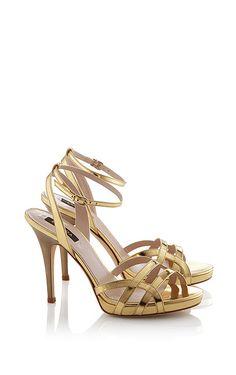 Bronze Gold Heels | Tsaa Heel