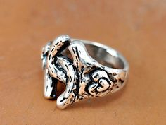 Double Horseshoe Ring  Horseshoe Jewelry  by islandcowgirl on Etsy, $42.00