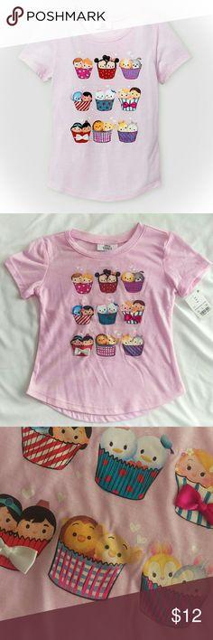 ⭐NWT Girls' Disney Tsum Tsum tee Adorable Disney Tsum Tsum tee, brand new with tags! Disney Shirts & Tops Tees - Short Sleeve