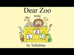 Dear Zoo children's song (based on the book by Rod Campbell)   Kids Nursery Rhymes and Songs - YouTube