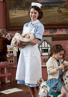 Call the Midwife on PBS. Love love love this show!! The best TV series involving nursing profession I've seen!