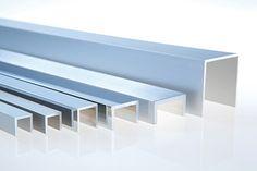 u-profil Aluminium, Entryway Tables, Shelves, Design, Furniture, Home Decor, Profile, Shelving, Decoration Home