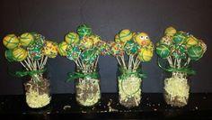 John Deere extra cake pops