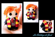 Ron Weasley Amigurumi (Harry Potter) by cristell15