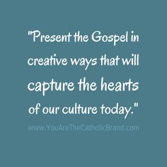 Present the #gospel
