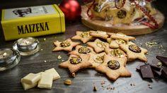Na cozinha com Maizena... Facebook: https://www.facebook.com/maizena Estrelas de Pistácios com Chocolate 48 unidades | 30min. | Fácil Ingredientes: 100 g de ...