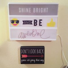 Have you seen these #LightBoxes from Heidi Swapp? I've been thinking of