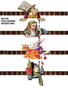 Alice dans l'oeuf de papier vacances par Raidersofthelostart