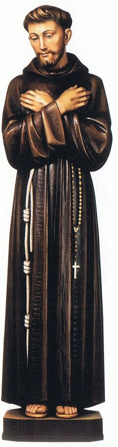 Demetz Saint Statue from Henninger's Religious Goods in Cleveland St Joan, Saint Francis, Religious Books, Francis Of Assisi, Statues, Catholic, Saints, Icons, Traditional