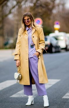 Gli Arcani Supremi (Vox clamantis in deserto - Gothian): Paris Fashion Week Fall 2018 street style Colour Combinations Fashion, Color Combinations For Clothes, Androgynous Fashion Women, Curvy Women Fashion, Autumn Street Style, Street Style Women, Business Casual Outfits, Trendy Outfits, Uniqlo Women Outfit