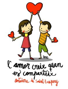 L'amor creix quan es comparteix Great Words, Wise Words, Sweet Quotes, Love Quotes, Great Sentences, Turu, Cat Quotes, Powerful Quotes, More Than Words