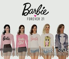Sims 2 Barbie by Forever 21 Collection by IT GIRL SIMS!