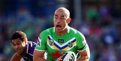 Terry Campese, rugby player - Canberra Raiders (NRL)