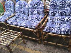 Cadeiras artesanais de bambu