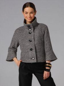 Burda Style: Damen - Jacken - Kurzjacken - Kurzjacke - 3/4-Ärmel