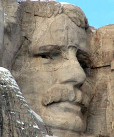 Mount Rushmore... and here's Theodore Roosevelt!  MOUNT RUSHMORE USA multicityworldtravel