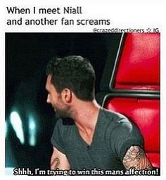Adam Levine + One Direction = Perfection ♡ << I'm sorry I can't stop pinning this it always makes me laugh