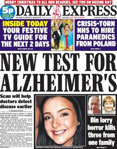 Daily Express - 24.12.14