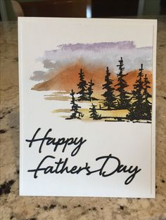Father's Day on the Range by pbft - at Splitcoaststampers perfect fathers day gift, fathers day cards, fathers day gifts funny Fathers Day Cards Handmade, Fathers Day Crafts, Happy Fathers Day Cards, Diy Father's Day Gifts Easy, Father's Day Diy, Father's Day Drawings, Diy Father's Day Cards, Cumpleaños Diy, Karten Diy
