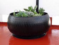 Tutorial de Artesanías: Macetas con Neumáticos