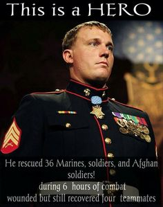 This is what a Hero is...