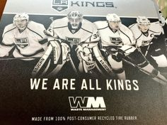 It's a #GoGreen game by Waste Management! Everyone in attendance gets mouse pads courtesy of @WasteManagement