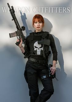 Ethereal Rose with a Hodge Defense/Mega Arms build. Cosplay of Rachel Cole-Alves, who joins the Punisher on a temporary basis.This build uses the Mega Arms Wedge Lock Rail (7075 Aluminum) in Rifle length (~12.5″) which is perfect for 14.5″ barrels.Lancer Systems Advanced Warfighter MagazineZeroBravo Reversible HandstopTrijicon MROArisaka Defense Offset Scout Mount