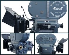 """The Mitchell BNCR was the standard camera of Hollywood from in the 1930's through the 1980's. They were used to film such classics as """"Casablanca"""", """"Psycho"""", and """"The Godfather""""."""