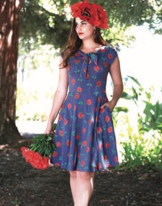 Image of Desmoiselles Dress in Tango Print
