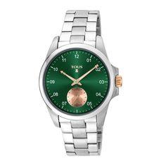 Reloj 1920 verde de acero - Tous