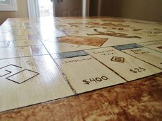 Monopol - Gra w PRO wydaniu? Genialny pomysł na Stolik   Zrób to Sam