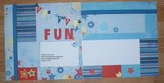 CTMH Fanfare Summer Fun layout created by Dawn Ross
