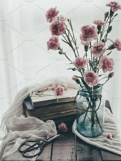 Old books still life by TinaThelen Photography on @creativemarket