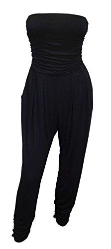 eVogues Plus Size Jumpsuit Black - 2X eVogues Apparel http://www.amazon.com/dp/B00OWV5TV8/ref=tsm_1_fb_lk